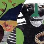Conjur Woman: Portrait in Collage–In the Style of Romare Bearden